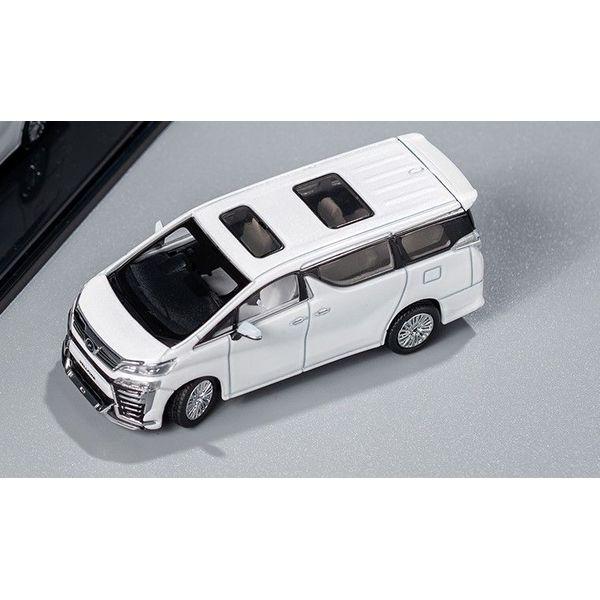 【6月予約】ゲインコーププロダクツ 1/64 トヨタ ヴェルファイア ホワイト/右ハンドル 完成品ミニカー KS009-41