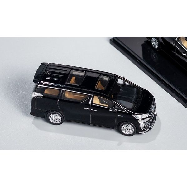 【6月予約】ゲインコーププロダクツ 1/64 トヨタ ヴェルファイア ブラック/右ハンドル 完成品ミニカー KS009-43