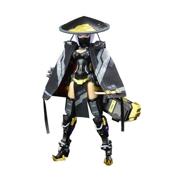 【11月予約】E-model A.T.K.GIRL 錦衣衛装甲少女 JW-059 ユニバーサルカラーVer. キャラクタープラモデル EM2021012