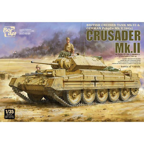 【11月予約】ボーダーモデル 1/35 イギリス巡航戦車 クルセーダーMk.II スケールモデル BT015