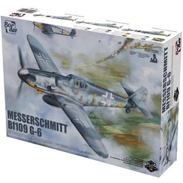 【6月予約】ボーダーモデル 1/35 メッサーシュミット Bf109 G-6 スケールモデル BF001