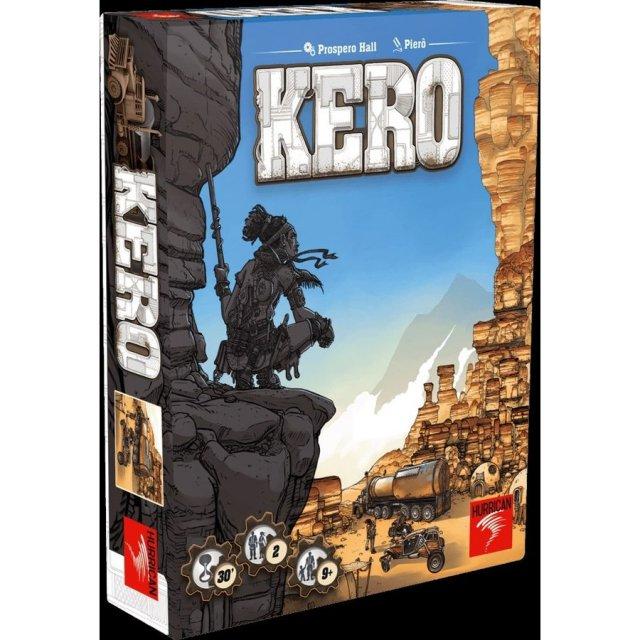 ホビージャパン KERO(ケロ)(多言語版)【取寄対応】 ボードゲーム 7612577020027