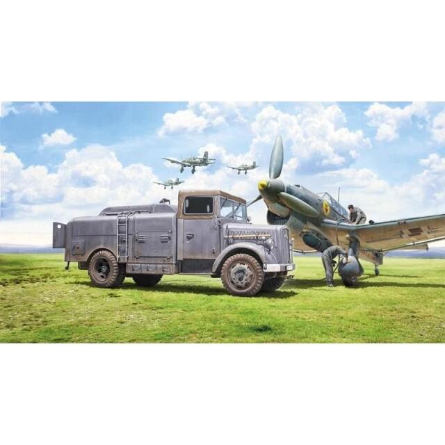 タミヤ 1/48 イタレリミリタリー オペルブリッツ 燃料補給車 Kfz.385 スケールモデル 38102