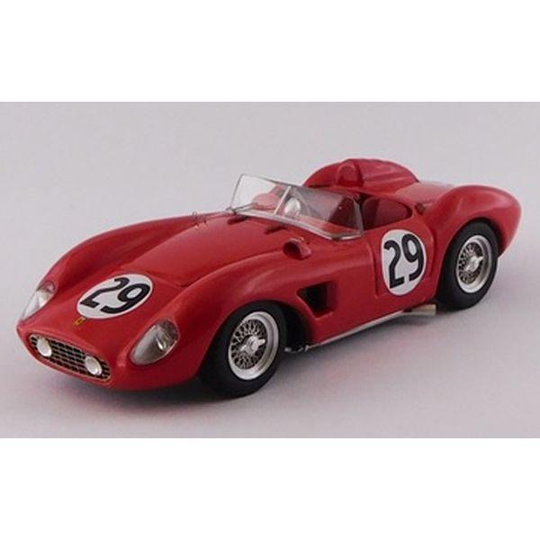 【5月予約】アートモデル 1/43 フェラーリ 500 TRC No.29 1957 セブリング12時間 E.ランケン/Hassan シャーシNo.0658 完成品ミニカー ART424