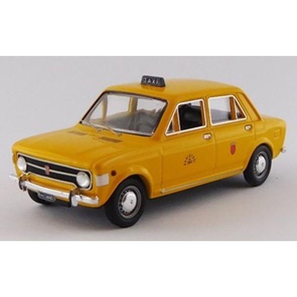 【5月予約】リオ 1/43 フィアット 128 ローマタクシー 1971 完成品ミニカー RIO4649