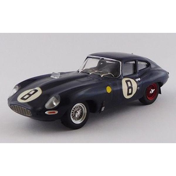 ベストモデル 1/43 ジャガー E タイプ クーペ No.8 1962 ル・マン24時間 M.チャールズ/Coundley 完成品ミニカー BEST9161/2