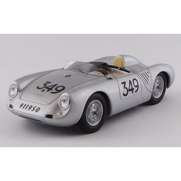 【5月予約】ベストモデル 1/43 ポルシェ 550A/1500 RS No.349 1957 ミッレミリア U.マリオーリ 完成品ミニカー BEST9800