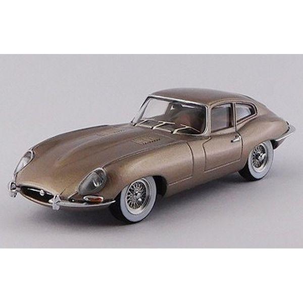 【7月予約】ベストモデル 1/43 ジャガー E タイプ クーペ ニューヨークモーターショー 1961 オパール調ブロンズ 完成品ミニカー BEST9805