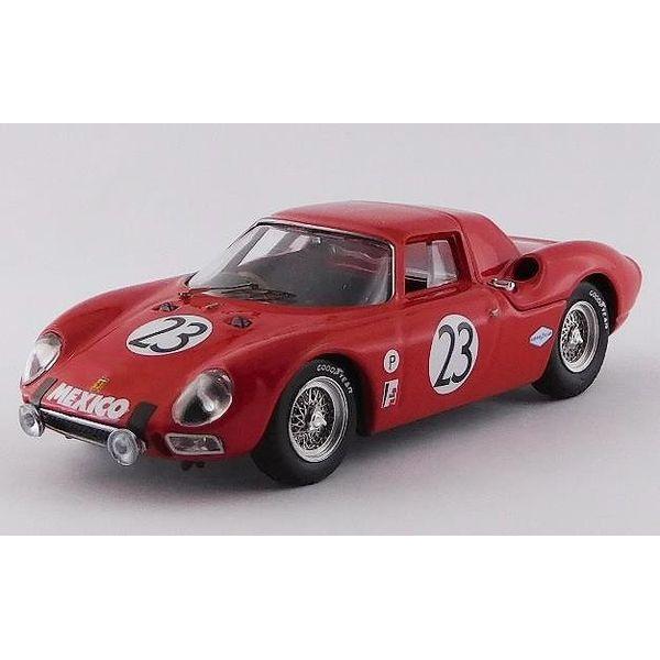 ベストモデル 1/43 フェラーリ 250 LM No.23 1967 セブリング12時間 ロドリゲス/de la Chica 完成品ミニカー BEST9811