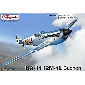 【2月予約】AZモデル 1/72 HA-1112M-1L ブチョン スケールモデル AZM7667