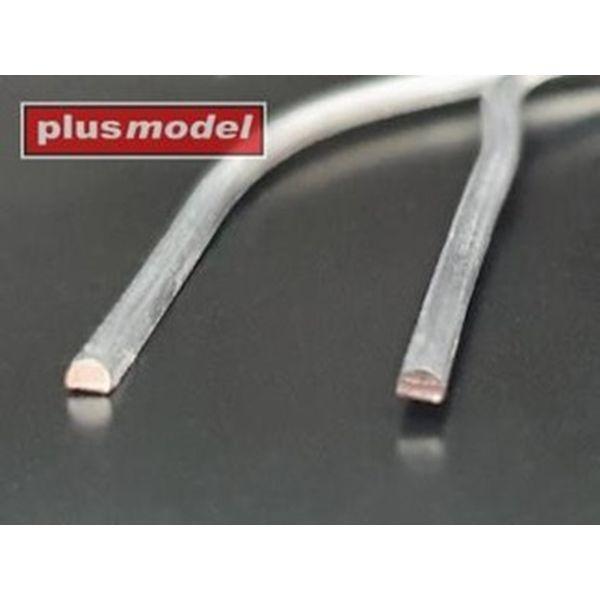 【5月予約】プラスモデル リード線 (半円形) 直径0.6mm (長さ:140mm x 18本) 模型用グッズ PLM559