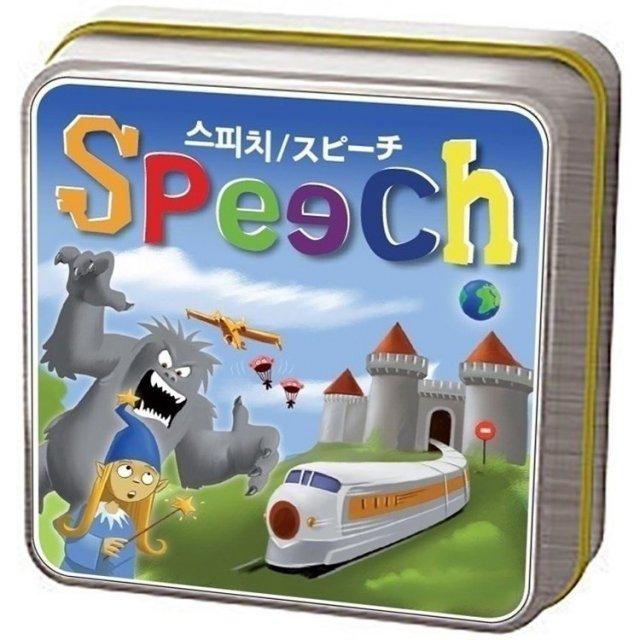ホビージャパン スピーチ【取寄対応】 ボードゲーム 8809185840577
