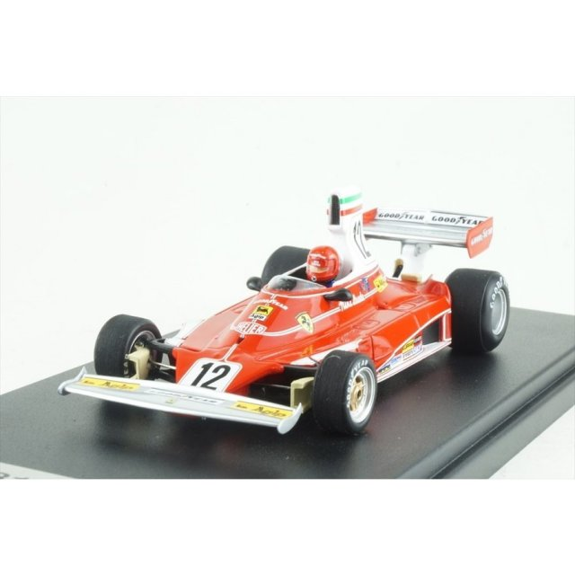 ルックスマート 1/43 フェラーリ 312T No.12 1975 F1 イタリアGP 3位 N.ラウダ 完成品ミニカー LSRC61