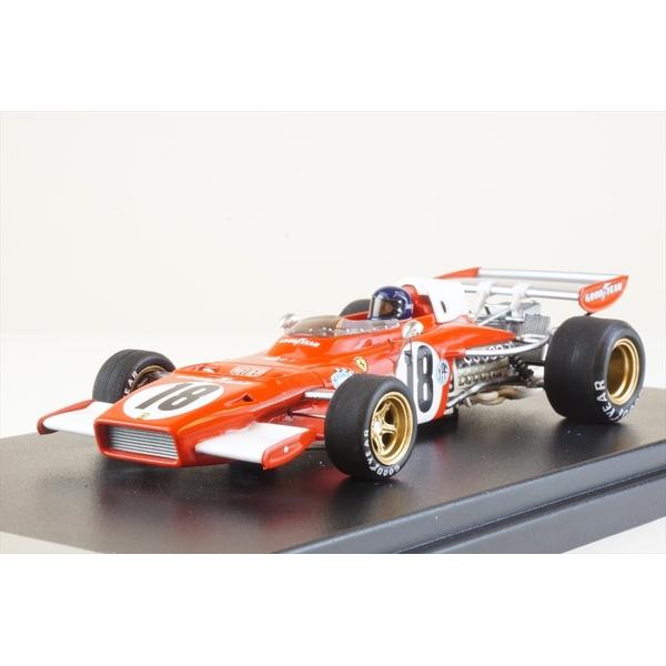 ルックスマート 1/43 フェラーリ 312 B2 No.18 1973 F1 アルゼンチンGP J.イクス 完成品ミニカー LSRC030