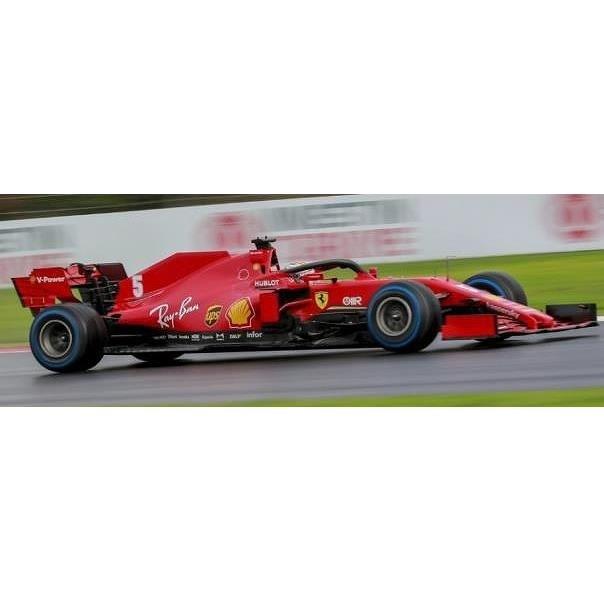 ルックスマート 1/43 スクーデリア フェラーリ SF1000 No.5 2020 F1 トルコGP S.ベッテル 完成品ミニカー LSF1033