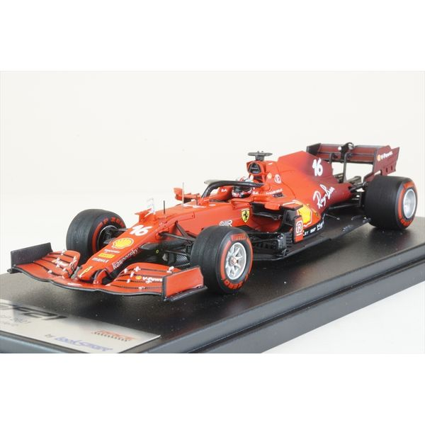 【8月予約】ルックスマート 1/43 スクーデリア フェラーリ SF21 No.16 2021 F1 バーレーンGP C.ルクレール 完成品ミニカー LSF1035