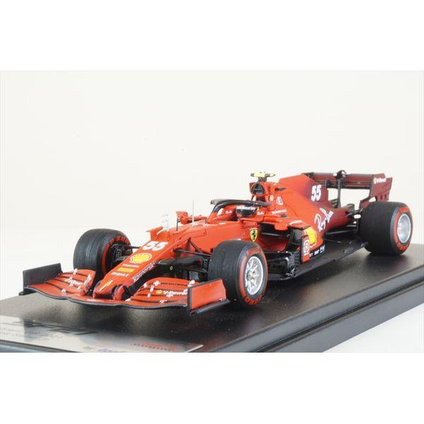 【8月予約】ルックスマート 1/43 スクーデリア フェラーリ SF21 No.55 2021 F1 バーレーンGP C.サインツJr. 完成品ミニカー LSF1036