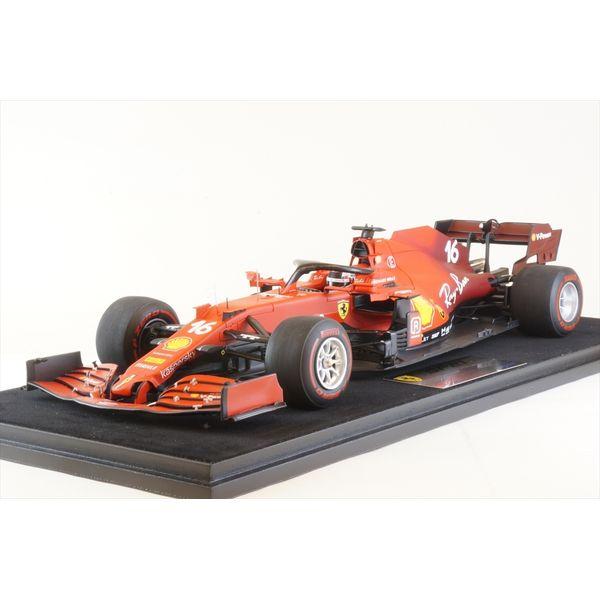 【9月予約】ルックスマート 1/18 スクーデリア フェラーリ SF21 No.16 2021 F1 バーレーンGP C.ルクレール 完成品ミニカー LS18F1035
