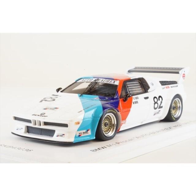 "KID BOX×Spark 1/43 BMW M1 Procar No.82 ""オートビューレック"" 1981 スーパーシルエット 内田審司 完成品ミニカー SKB43036"