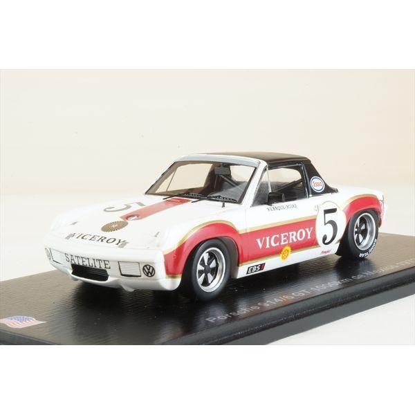 【10月予約】スパーク 1/43 ポルシェ 914/6 GT No.5 1972 メキシコ1000km G.Rojas/H.A.Rabaque 完成品ミニカー US057