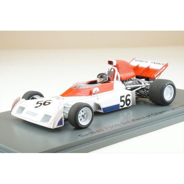 【1月予約】スパーク 1/43 サーティース TS9B No.56 1973 レース・オブ・チャンピオンズ 3位 J.ハント 完成品ミニカー S3998