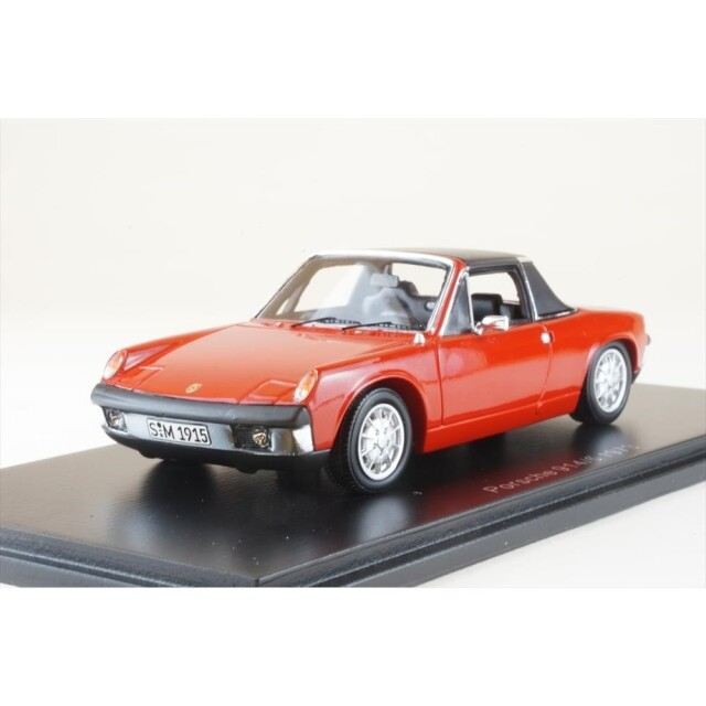 スパーク 1/43 ポルシェ 914/6 1973 完成品ミニカー S4563