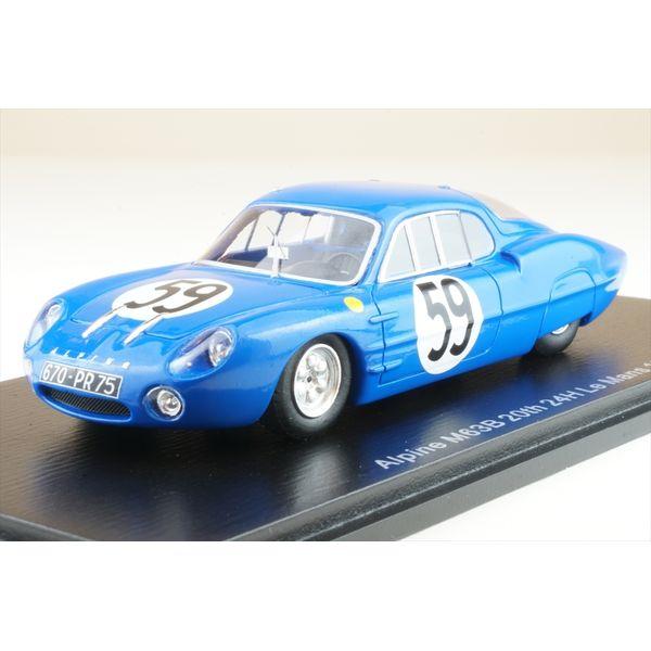 【12月予約】スパーク 1/43 アルピーヌ M63B No.59 1964 ル・マン24時間 R.マッソン/T.ゼッコリ 完成品ミニカー S5684