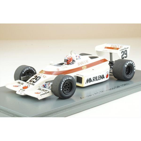 【1月予約】スパーク 1/43 アローズ A6 No.29 1983 F1 モナコGP M.スレール 完成品ミニカー S5784