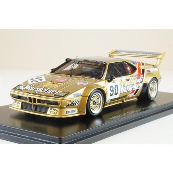 【6月予約】スパーク 1/43 BMW M1 No.90 1983 ル・マン24時間 A.パラヴィチーニ/J.ウィンザー/L.バイエルン 完成品ミニカー S6407