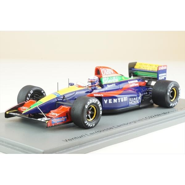 【1月予約】スパーク 1/43 ヴェンチュリーラルース LC92 No.29 1992 F1 モナコGP 6位 B.ガショー 完成品ミニカー S6968