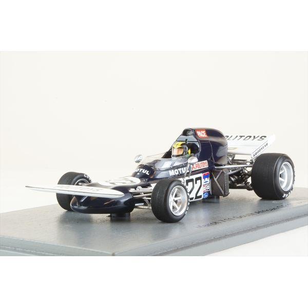 【5月予約】スパーク 1/43 マーチ 711 No.22 1972 F1 南アフリカGP C.ペース 完成品ミニカー S7263