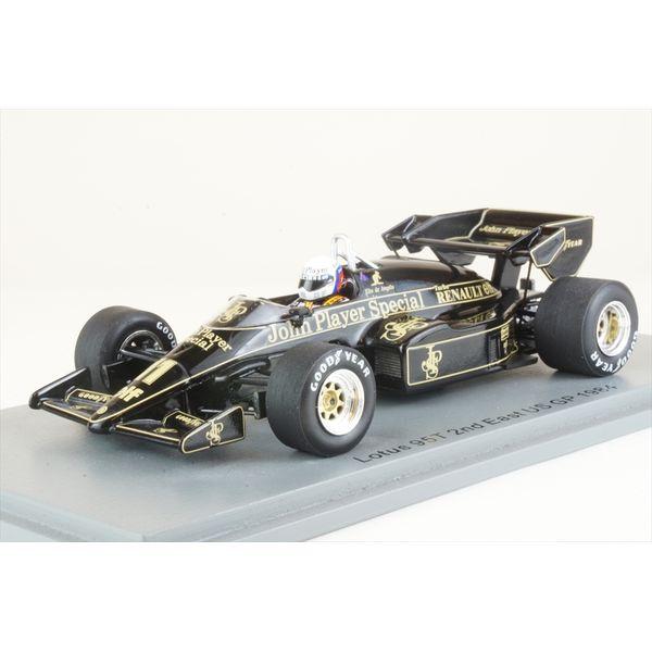 【1月予約】スパーク 1/43 ロータス 95T No.11 1984 F1 東アメリカGP 2位 E.de アンジェリス 完成品ミニカー S7290