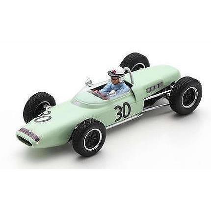 【7月予約】スパーク 1/43 ロータス 18-21 No.30 1961 F1 フランスGP H.テイラー 完成品ミニカー S7445