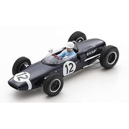 【6月予約】スパーク 1/43 ロータス 18-21 No.12 1962 ポーGP ウィナー M.トラティニアン 完成品ミニカー S7451