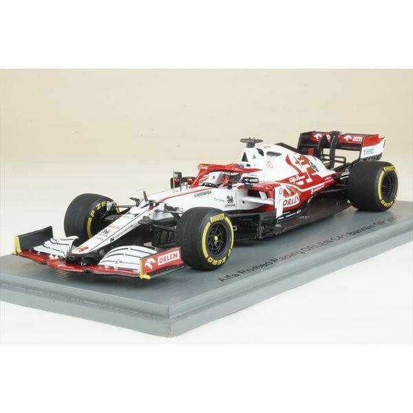 【8月予約】スパーク 1/43 アルファロメオレーシング ORLEN C41 ザウバー No.7 2021 F1 バーレーンGP K.ライコネン 完成品ミニカー S7662