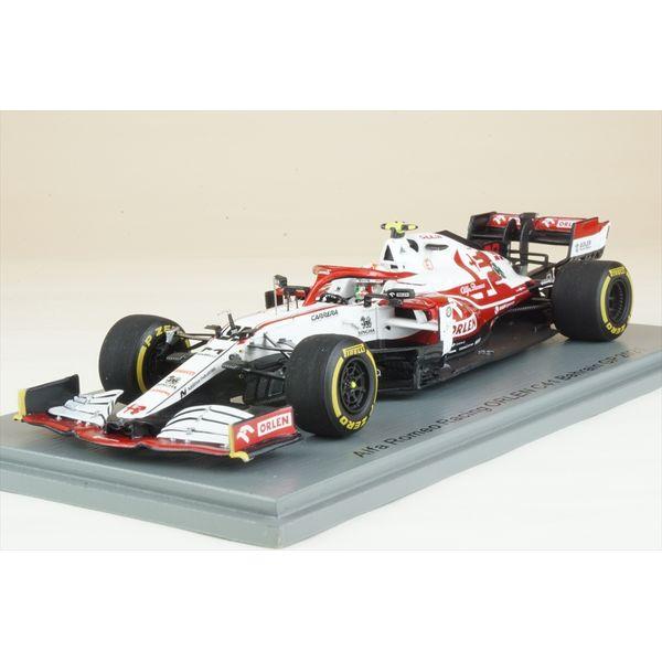 【8月予約】スパーク 1/43 アルファロメオレーシング ORLEN C41 ザウバー No.99 2021 F1 バーレーンGP A.ジョヴィナッツィ 完成品ミニカー S7663
