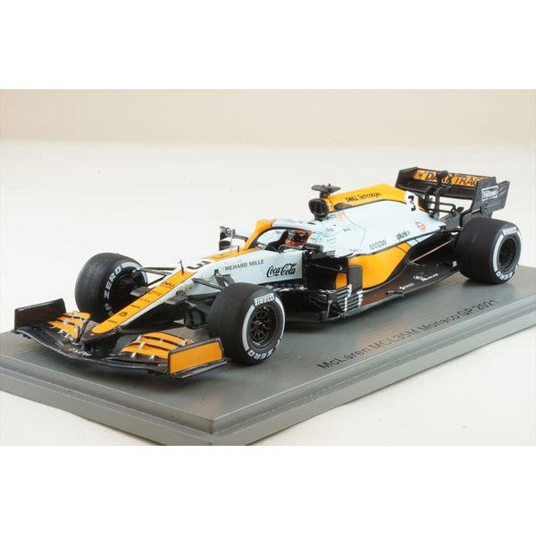 【12月予約】スパーク 1/43 マクラーレン MCL35M マクラーレン No.3 2021 F1 モナコGP D.リカルド 完成品ミニカー S7678