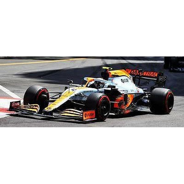 【12月予約】スパーク 1/43 マクラーレン MCL35M No.4 2021 F1 モナコGP 3位 L.ノリス With No.3ボード 完成品ミニカー S7679