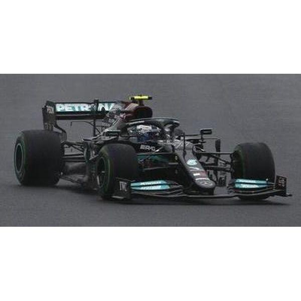 【1月予約】スパーク 1/43 メルセデス-AMG ペトロナス No.77 W12 E Performance 2021 F1 トルコGP ウィナー V.ボッタス ピットボード付 完成品ミニカー S7681