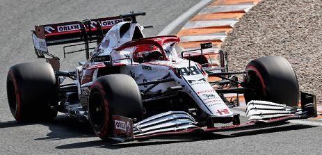 【1月予約】スパーク 1/43 アルファロメオ レーシング オーレン C41 No.88 2021 F1 オランダGP R.クビサ 完成品ミニカー S7687