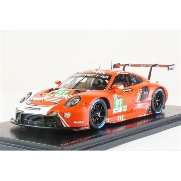【8月予約】スパーク 1/43 ポルシェ 911 RSR-19 1st Hyperpole LMGTE No.91 2020 ル・マン24時間 G.ブルーニ/R.リーツ/F.マコヴィッキィ 完成品ミニカー S7983