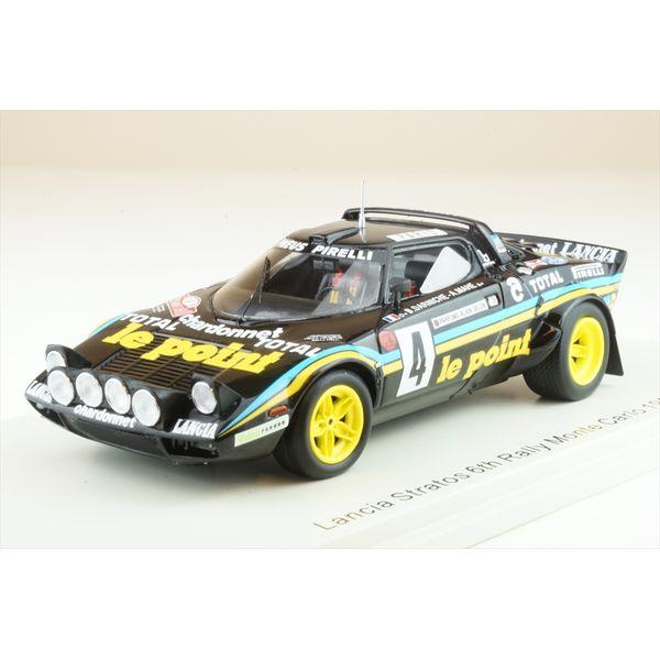 【1月予約】スパーク 1/43 ランチア ストラトス No.4 1981 WRC ラリー・モンテカルロ B.ダルニッシュ/A.マエ 完成品ミニカー S9098