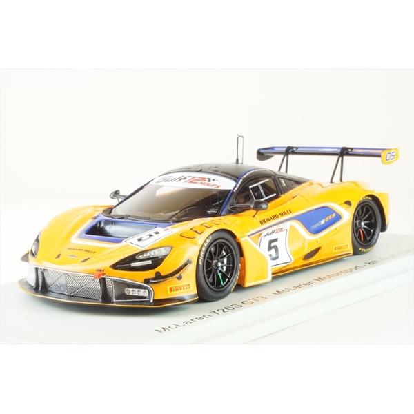 【6月予約】スパーク 1/43 マクラーレン 720S GT3 No.5 マクラーレンモータースポーツ 2018 ガルフ12時間 8位 B.バーニコート/and more 完成品ミニカー S9200