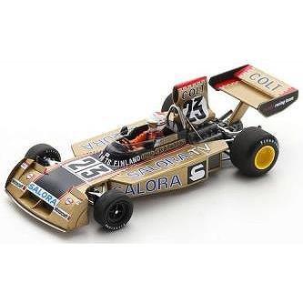 【6月予約】スパーク 1/43 サーティース TS16 No.23 1974 F1 スウェーデンGP L.キヌーネン 完成品ミニカー S9654