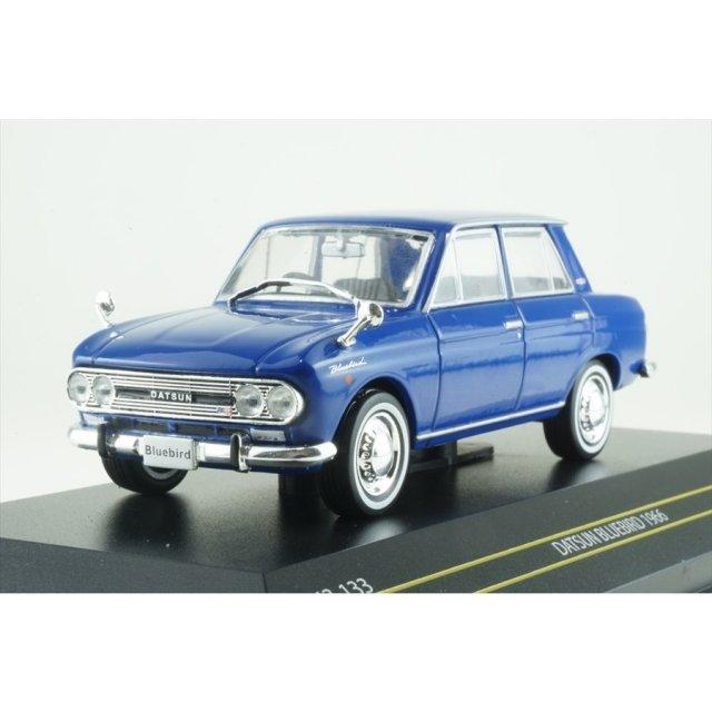 ファースト43 1/43 ニッサン ブルーバード 410 1963 ブルー 完成品ミニカー F43-133