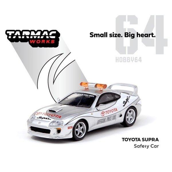 ターマックワークス 1/64 トヨタ スープラ セーフティーカー 完成品ミニカー T64-011-SC