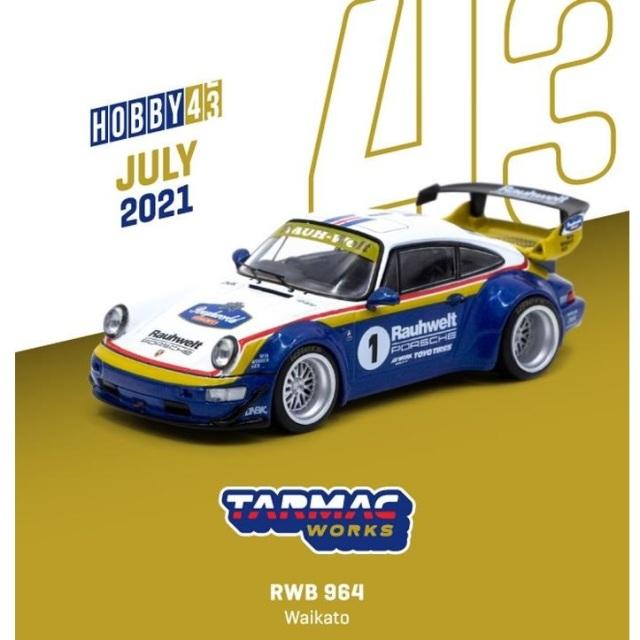 【9月予約】ターマックワークス 1/43 RWB ポルシェ 964 ワイカト 完成品ミニカー T43-017-WKT