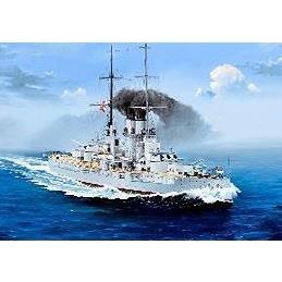 【7月予約】トランペッター 1/350 オーストリア=ハンガリー帝国海軍 戦艦 SMS セント・イシュトヴァーン スケールモデル 05365