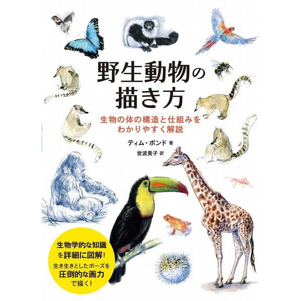 野生動物の描き方 生物の体の構造と仕組みをわかりやすく解説 【書籍】