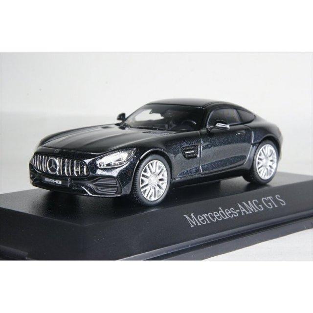 ディーラー別注 1/43 メルセデスAMG GT クーペ ブラック 完成品ミニカー B66960435
